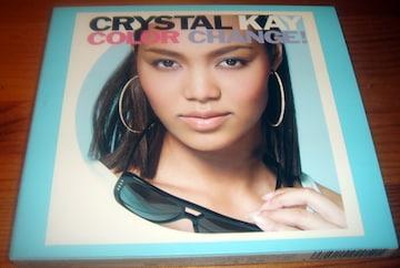 Crystal Kay クリスタル・ケイ Color Change! 限定盤 DVD付