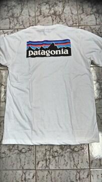 patagonia パタゴニア 長袖ロングT シャツ ボックス 白