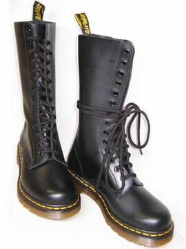 ドクターマーチンDrMartens14ホール ブーツ1914W ブラックuk4