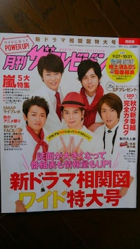 [雑誌]月刊ザテレビジョン 関西 2014.11 No.240 9/27-10/31 嵐