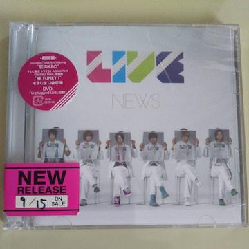 NEWS◇LIVE 初回盤 CD+DVD◇中古美品