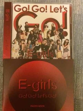 激安!超レア!☆E−girls/Go!Go!Let's☆初回盤/CD+DVD☆超美品☆