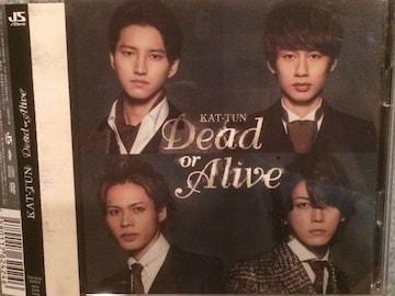 激安!超レア!☆KAT−TUN/DcadorAlive☆初回盤/CD+DVD☆超美品!