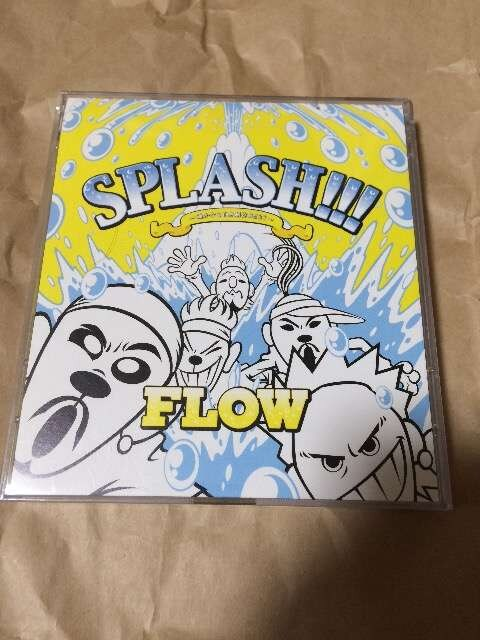 FLOW splash アルバム dvd付き  < タレントグッズの
