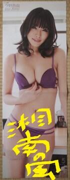 「今野杏南」さんの未添付特大ビキニ水着両面ポスター