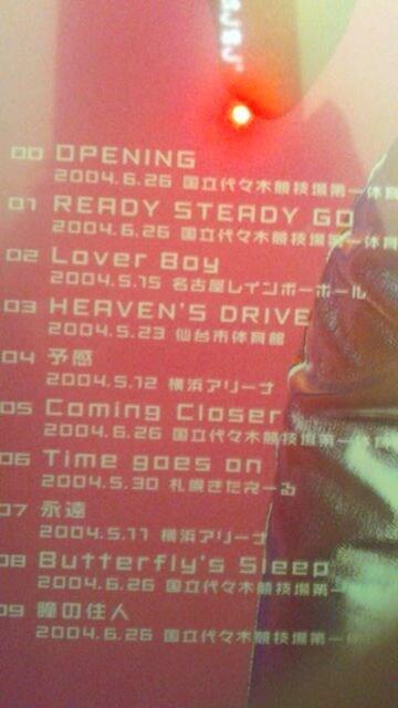 L'Arc〜en〜Ciel DVD〓  < タレントグッズの