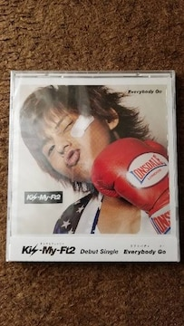 Kis-My-Ft2/Everybody Go(キスマイショップ限定盤)