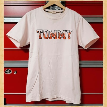 TOMMY トミー Tシャツ M ピンク