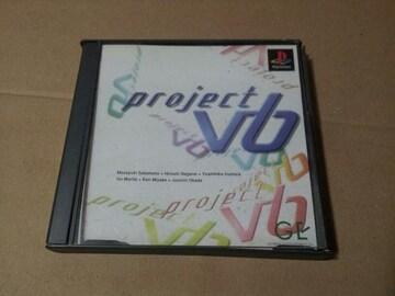 V6のゲームPS☆プロジェクトV6☆シール付き♪