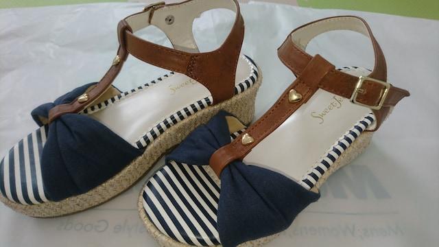 21�p★女の子靴★サンダル < キッズ/ベビーの