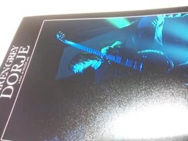 DIR EN GREY◆薫◆メモカ   2009.12.30  Zepp名古屋 < タレントグッズの