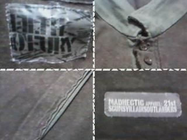 《HECTIC》ポロシャツ ヘクティク 裏原系 ストリート 古着 < ブランドの