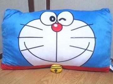 ■感謝祭!ドラえもん*スクエアクッション☆抱き枕(36×60�p)*フェイス■