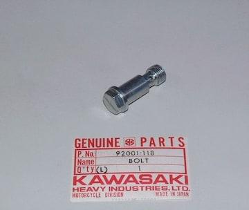 カワサキ F11 F11M メインジェットホルダー・ボルト 絶版新品