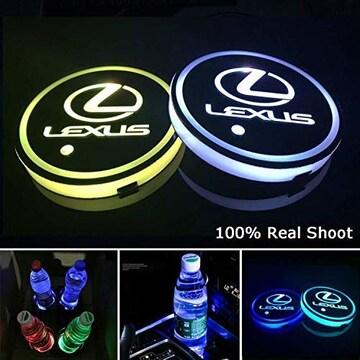 車用 LED ドリンクホルダー  (レクサス)