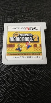 3DS[NEWスーパーマリオブラザース2]ソフトのみ/動作確認済み