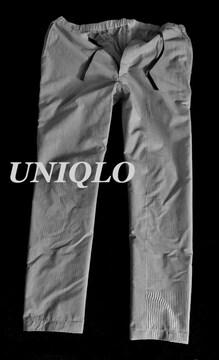 【UNIQLO】ドライコットンイージーパンツ L(84〜92�p)/L.Gray