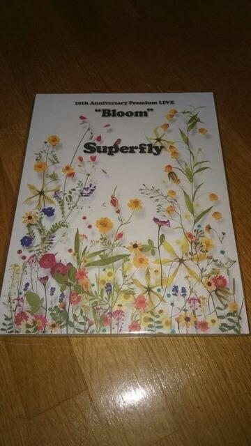 Superfly ス-パ-フライ 10th Anniversary Premium LIVE Bloom パンフ  < タレントグッズの