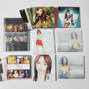 愛内里菜(垣内りか)★PV-ライブ-DVD6点セット&おまけ3点