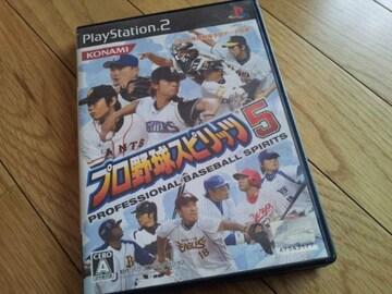 PS2☆プロ野球スピリッツ5☆KONAMI。