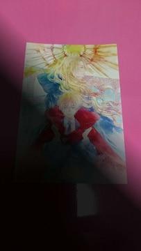 六青みつみ 金緑の神子と神殺しの王 コミコミスタジオ購入特典イラストカード