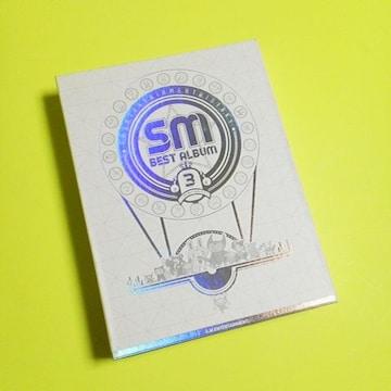 SM Best Album 3 (CD6枚組-全89曲収録)東方神起/SUPER JUNIOR
