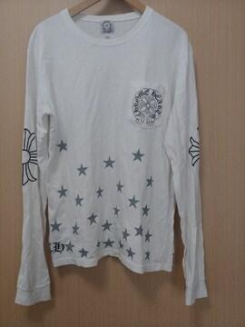 CHROME HEARTS ポケット ロゴ ロングTシャツ ロンT XL