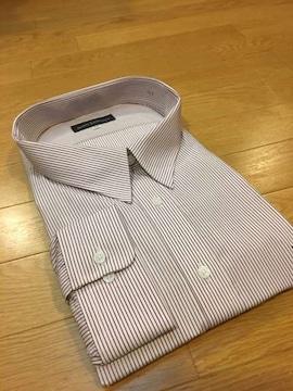 MARIO ESPERANZA  ビジネスストライプYシャツ  size7LB  3XL  14