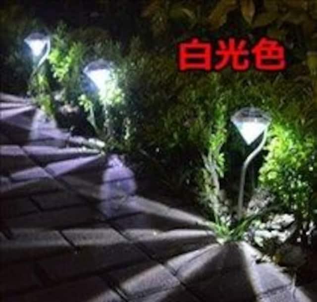 ★即日発送★ ガーデンライト 4本セット 暖黄色 他カラー有 < 家電/AVの