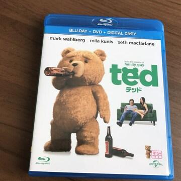 テッドted新品未再生3枚組Blu-ray+DVDブルーレイ
