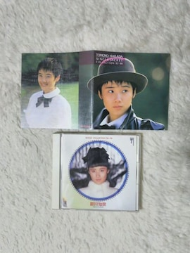 CD 原田知世 シングル コレクション'82〜'88 帯無 全15曲 ジャケット付 '88/9