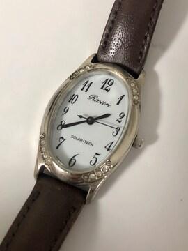 T035 シチズン リビエール ソーラー レディース 腕時計