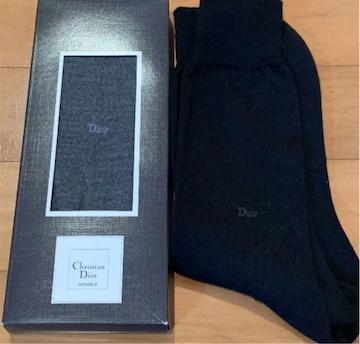 Christian Dior MONSIEUR 靴下 2足 紳士用 ディオール