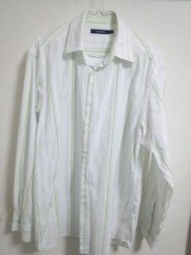 ナビゲータ ストライプシャツ