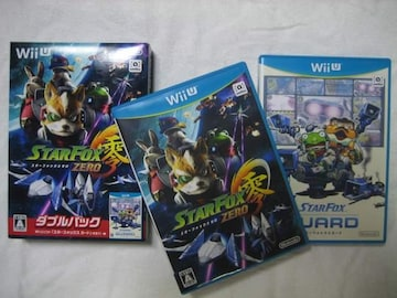 WiiU スターフォックスゼロ ダブルパック