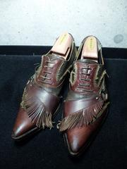 アルフレッドバニスター〓シューズ靴〓ダークブラウン/44