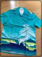 PAUL&JOE/青緑色/エメラルドグリーン/半袖/シャツ/Mサイズ/men's