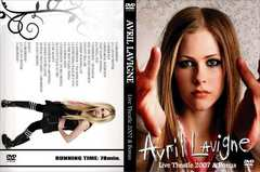 AVRIL LAVIGNE IN THEATLE 2007 アヴリルラヴィーン