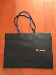 russet★ラシット ショッパー 紙袋