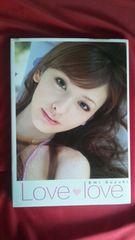 ☆中古写真集【『LOVE LOVE』鈴木えみ】セブンティーン/PINKY/カリスマモデル