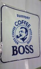 サントリーボス Bossベガス 非売品ハンドタオル 激レア