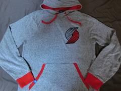USA購入 adidas製 NBA Portland Trail Blazers パーカーUS S