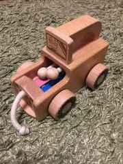ベネッセ、ベビー用 音がでるオモチャ  木製