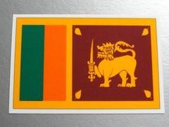 1■スリランカ国旗ステッカー1枚 シール ☆即買!■