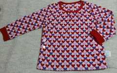 ユニクロ☆フリース素材のパジャマ☆size100