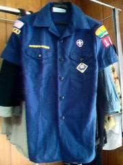 OFFICIAL YOUTH SHIRT■カリフォルニアボーイスカウトシャツ■紺
