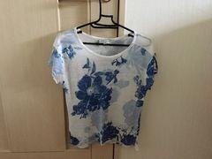 花柄☆Tシャツ☆