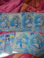 ハグっとプリキュア☆キラキラトレーディングコレクション☆キュアアンジュ☆7枚セット☆カード