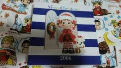 不二家☆クリスマスのお皿☆2006年☆新品ペコちゃん