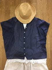 新品!niko and...紺色シャツ!sm2好きに!